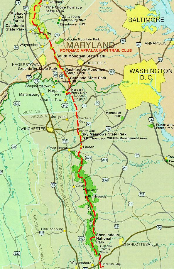 Trip Report: VA AT 1999