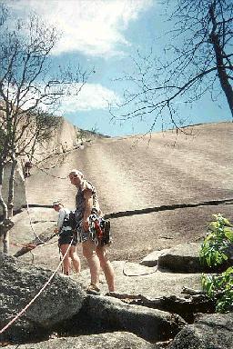 Trip Report Climbing At Stone Mountain Nc