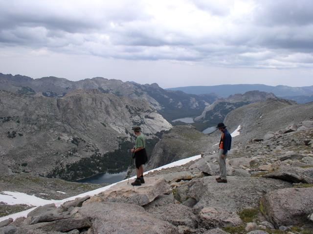 trip report  southern wind river range backpacking trip